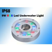 Wholesale 9W RGB DC12V/24V Underwater LED Fountain Lights Made of Stainless Steel from china suppliers