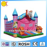 Wholesale Cartoon Tom Pink Jumping Inflatable Bouncer Castle With CE / UL Blower from china suppliers