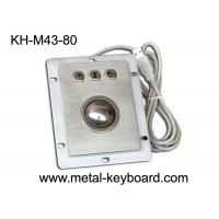 Wholesale Waterproof Kiosk Trackball Pointing Device with 38MM Stainless Steel Trackball from china suppliers