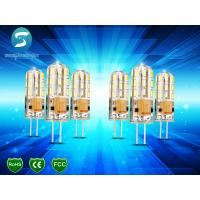 Wholesale Dimmable G4 Light Bulb LED Corn Crystal Lamp Lighting Silicone Body 95Lm / W from china suppliers