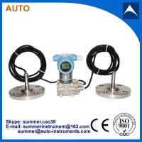 Wholesale Differential pressure transmitter for interface level mea with 4-20mA output HART protocol from china suppliers