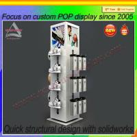 Wholesale Sport shoe display stands flooring custom shoes display from china suppliers