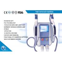 Wholesale Hair removal / wrinkle remover / skin rejuvenation machine IPL SHR Elight 3 in 1 system from china suppliers