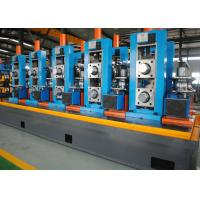 Wholesale High Precision Full Automatic ERW Pipe Mill , Worm Gearing Max.80m/min from china suppliers