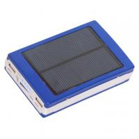 Wholesale Two USB Ports Solar Panel Power Bank Fast Charging with Strong LED Light from china suppliers