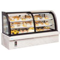 Wholesale Customized Glass Fronted Free Standing Food Display Cabinets / Showcase from china suppliers