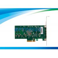 Wholesale PC Fiber Network Card Dual Port Ethernet Intel 82571EB Intelligent Offloads from china suppliers