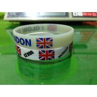 Quality Customized designs and logo 100% Silicone chain bracelet for women for sale