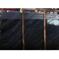 Buy cheap Black Wood Vein Marble Slabs & Tiles, China Black Marble for floor from wholesalers
