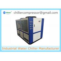 Buy cheap Best Price Blue MG-40(D)  Scroll type109kw 30tons Industrial Air Cooled Water Chiller from wholesalers