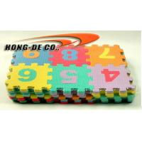 Wholesale 100% EVA Foam Alphabet Puzzle Mat with ABC, 123 from china suppliers