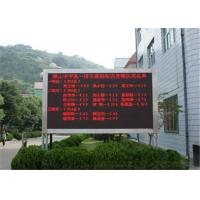 Wholesale Single Color LED Message Board P10 Outdoor , Programmable LED Signs from china suppliers