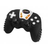 Wholesale 12 Button 4 Axis RF Wireless Gamepad , Analog / Digital Mini Game Pad from china suppliers