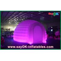 Wholesale Advertising Dome Inflatable Air Tent , Led Light Inflatable Lawn Tent from china suppliers