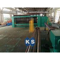 Wholesale High Efficiency Safety Hexagonal Wire Netting Weaving Machine for Galfan Gabion Boxes from china suppliers