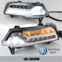 Wholesale Volkswagen VW Polo DRL LED Daytime Running Lights turn light steering from china suppliers