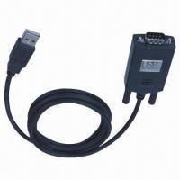 Wholesale USB to RS232 Cable, DB9 Pin Supports 300 to 128,000 Bauds from china suppliers