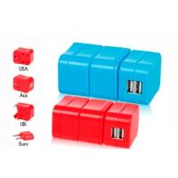 Wholesale Removable Combined European Travel Adapter Plug With Usb Power Outlet  from china suppliers