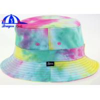 Wholesale Floral Wholesale Fancy Printed Bucket Hats With Sublimation Logo for Lady from china suppliers