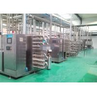 Wholesale Small Scale Plastic Bottled  Drinking Flavoured  Fruit Stirred Yoghurt Production Equipment from china suppliers