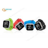 Wholesale Touch Screen SOS GPS Tracker Watch , Small Tracking Devices For Children from china suppliers