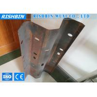 Wholesale 5 - 15 m / min Crash Barrier Metal Forming Equipment Cr12 Mould Material from china suppliers
