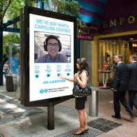 Buy cheap Way finding Kiosk with Nano Touch Outdoor Digital Signage  2500 nits IP 65 from wholesalers
