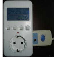 Wholesale Plug In Power Monitor(a, V, Hz, W.pf $) from china suppliers