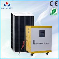 Buy cheap off-grid 5kw home solar system 220v solar power generator on sale TY085A from wholesalers