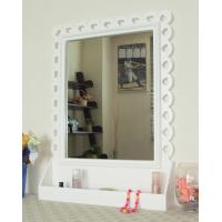 Buy cheap Functional white storage wall mirror from wholesalers