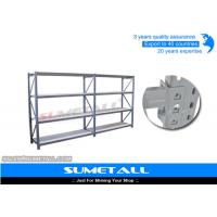 Buy cheap Free Standing Diamond Hole Commercial Metal Shelving Longspan Racking For Storage from wholesalers