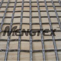 Wholesale Chemical stability Basalt Reinforcing Mesh Geogrid Asphalt Coated from china suppliers