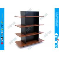 Wholesale 4 Tiers Wood Store Displays Gondola Merchandiser for Clothing Display from china suppliers