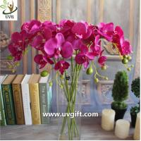 Wholesale UVG Silk blossom wholesale artificial orchid flowers for wedding decoration centerpieces from china suppliers