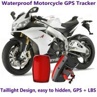 Wholesale GPS304 Waterproof Motorcycle GSM GPRS GPS Tracker LBS Locator 9~40V Support Alarm Siren from china suppliers
