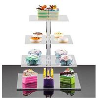 Wholesale plexiglass wholesale acrylic wedding cake display rack from china suppliers