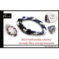 Wholesale Adjustable Size Rope Braided Color Power Balance Silicone Bracelet at a good price from china suppliers