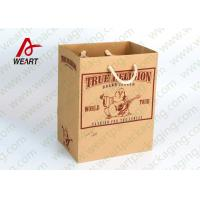 Wholesale Classic Designer Grocery Promotional Paper Bags Personalized ISO / FCC Standard from china suppliers