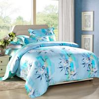 Wholesale Modern 4pcs Home Bedroom Bedding Sets 100 Percent Cotton Fabric Tancel Duvet Cover Sets from china suppliers