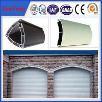 Wholesale extruded aluminium profiles prices per kg/coiling door,shutter door aluminium profile from china suppliers