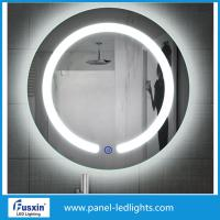 Wholesale IP44 waterproof round frameless led bathroom mirror lights makeup mirror lights from china suppliers