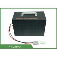 Wholesale Light Weight Deep Cycle Lithium Battery 48V 20Ah No Memory Effect from china suppliers