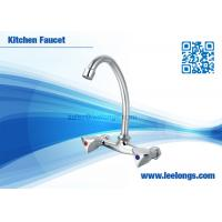 Wholesale 2 Handle Kitchen Basin Faucet Vessel Sink Faucets Connect To Water Outlet from china suppliers