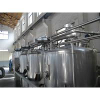 Buy cheap CIP Cleaning Washing System For Beverage  production line , Stainless Steel SUS304 / 316L from wholesalers