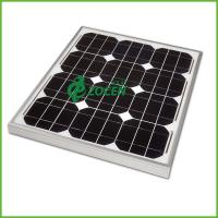 Wholesale 30 Watts Mono Crystal Silicon Custom Solar Panels High Light Absorption from china suppliers