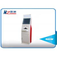 Buy cheap 19 inchtouch screen LED card dispenser kiosk with Windows system from wholesalers