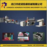 Quality High Automation Plastic Sheet Extrusion Line Recyclable EPE Foam Machine for sale