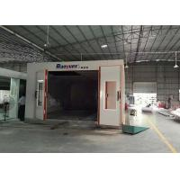 Wholesale LED Light Infrared Spray Booth , Outside Paint Booth 8M Length 4.5 M Width from china suppliers