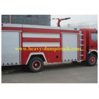 Wholesale Sinotruk Fire Engine Vehicles Red Flame on Road 6X4 / 4X2  BV / ISO from china suppliers