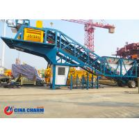 Wholesale 35 R / Min Universal Mobile Concrete Batching Plant YHZS50 Model 50m3 / H Rated Capacity from china suppliers
